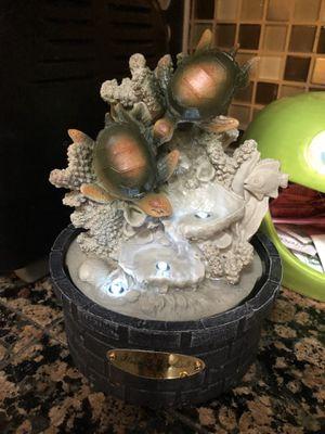 Tabletop turtle fountain for Sale in Longwood, FL