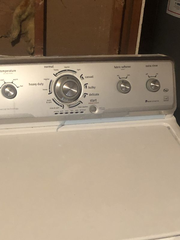 Maytag Centenial washer and dryer