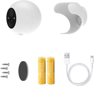 Wireless Security Camera with Spotlight, IP66 Waterproof, 1080P Rechargeable Battery Powered WiFi Camera, Indoor/Outdoor Security Camera, Color Night for Sale in Pomona, CA