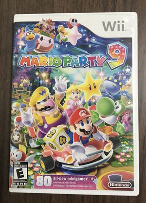 Mario Party 9 for Nintendo Wii game system nine for Sale in Cleveland, OH