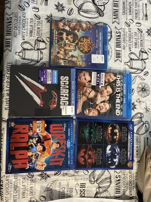 Brand New Blu-ray's SEALED for Sale in Victorville, CA