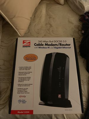 Internet Cable Modem Wifi Router for Sale in Irving, TX