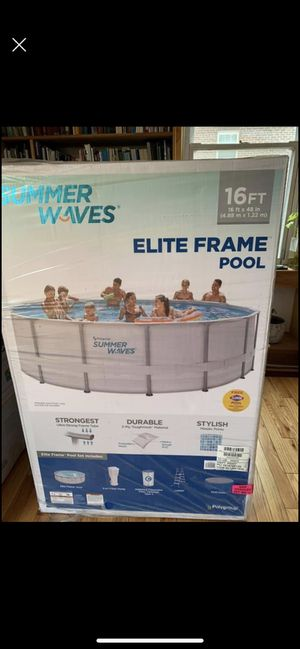 Summer Waves 16x48 pool piscina for Sale in Hyattsville, MD
