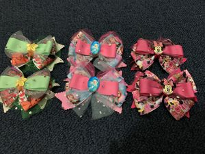 Baby girl bows handmade for Sale in Brooklyn, NY
