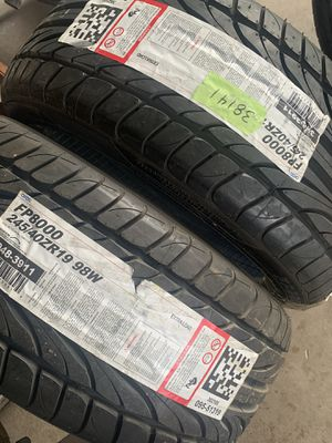New Ohtsu FP8000 245/40/19 Tires for Sale in Westminster, CO