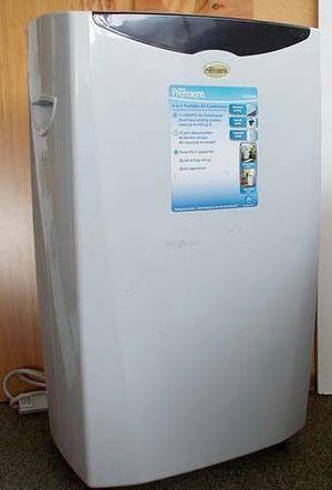 Danby Premier AC Dual Hose 11,000 BTU Portable Air Conditioner + A/C Hose/Window Kit for Sale in Vista, CA