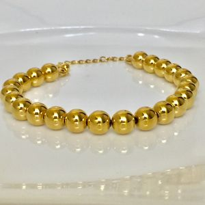 Gold filled balls bracelet beads charm for Sale in Silver Spring, MD