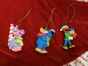 Sesame Street Christmas Ornaments for Sale in Sunnyvale, CA