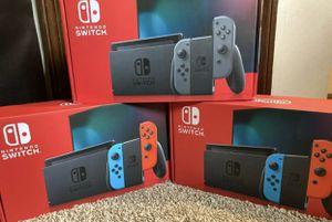 Brand new never opened Nintendo switch v2 for Sale in Evesham Township, NJ