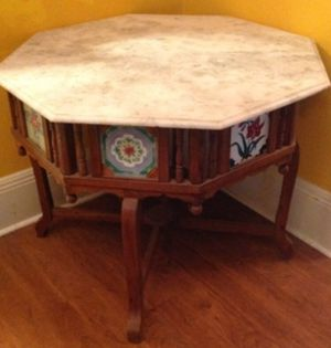 Antique Marble Top Table for Sale in Orlando, FL