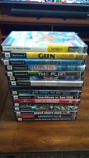 Lot of 16 PS2 Games for Sale in Alexandria, VA