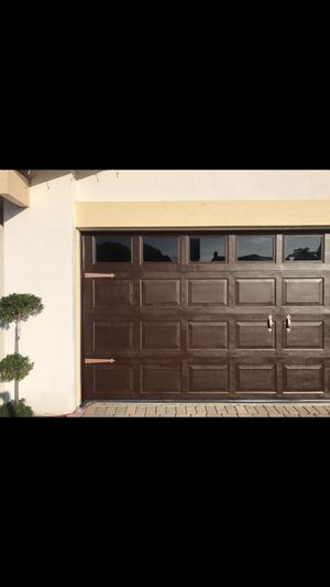 Garage door (standard 2 car garage) for Sale in Laguna Beach, CA