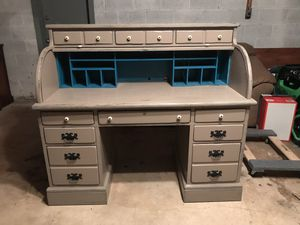 """Ethan Allen Roll Top Desk 54""""x28""""x48"""" for Sale in Colesville, MD"""