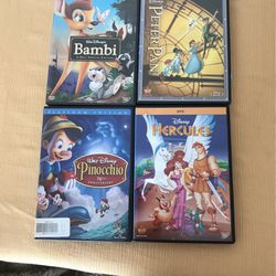 3 Disney DVDS for Sale in Hampton Township,  PA