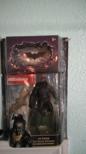 Batman begins action figure for Sale in Colton, CA