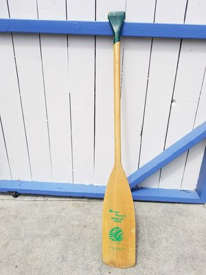 Vintage INDIAN HEAD BRAND boat paddle for Sale in Carson, CA