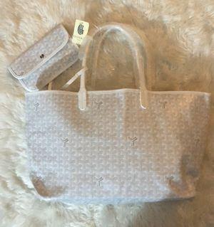 White Goyard Louis Tote Bag Purse for Sale in Lilburn, GA