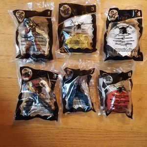 "Happy Meal ""Pirates of the Caribbean"" toys (Lot of 6) for Sale in Dundee, OR"