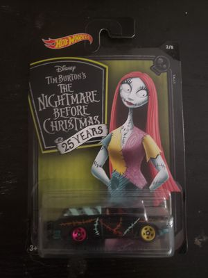 *Hot Wheels Nightmare Before Christmas 25th anniversary collection for Sale in Oregon City, OR