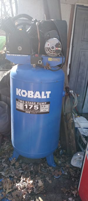 Kobalt air compressor for Sale in Hillsboro, MO