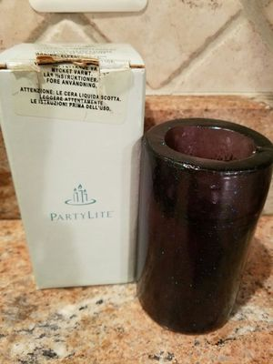 PartyLite Starry Nighy Pillar Candle used for Sale in Manassas, VA