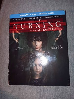 The Turning (Blu Ray +Dvd+Digital Code +SlipCover) New Sealed for Sale in Michigan City, IN