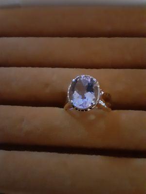 Lavender goldtone ring size 6 for Sale in PT CHARLOTTE, FL