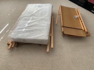 Changing Table (brand new mattress)+ Crib Set for Sale in La Vergne, TN