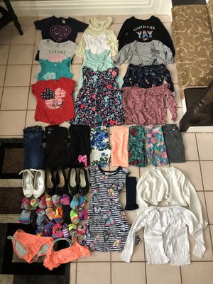 Girls toddler clothing clothes shirts pants shoes socks for Sale in Monroe Township, NJ