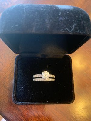 Engagement Ring and Wedding Band for Sale in Wichita, KS
