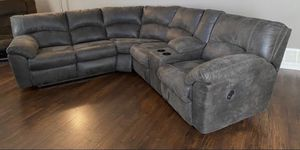 Check out this two piece sectional w/dual recliners!! for Sale in Mentone, CA