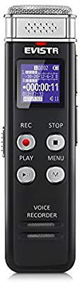EVISTR 8GB Digital Voice Recorder with Playback - Portable Recorders for Lectures Sound Audio Recording Device Dictaphone for Sale in Altamonte Springs, FL