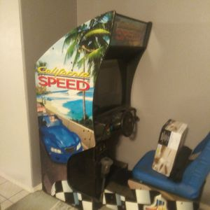 I got to arcade games California speed And marvel vs capcom both in good condition everything works good both for $1,000 for Sale in Fresno, CA