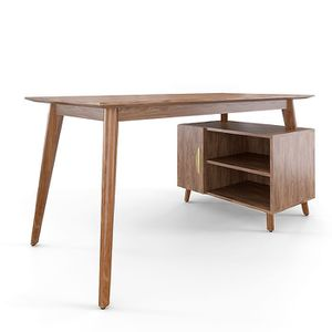"Union & Scale MidMod 60"" Storage Desk, Espresso (UN56950) for Sale in Lawrence, MA"