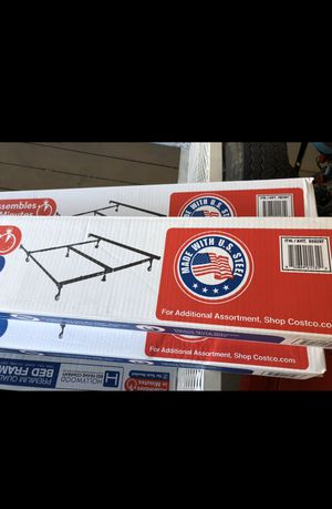 BED FRAME BRAND NEW NEVER OPENED PREMIUM QUALITY Twin /Full / Queen/ Cal King/ East King Holly wood bed frame for Sale in Glendale, AZ