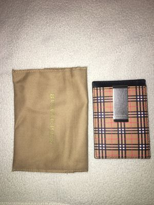 Brand new Burberry card wallet for Sale in San Diego, CA