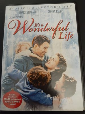 IT'S A WONDERFUL LIFE 2-Disc Collector's Edition (DVD) for Sale in Lewisville, TX