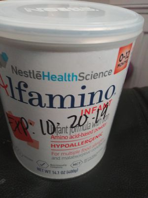 Nestle alfanino 14.1 oz new unopened expire 10-20-19 $10 1 can available . for Sale in Houston, TX