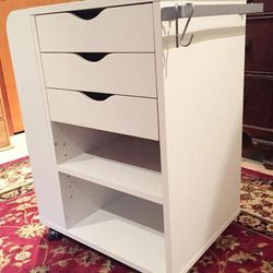 White Ikea Sonne / Craft Cart for Sale in Happy Valley,  OR