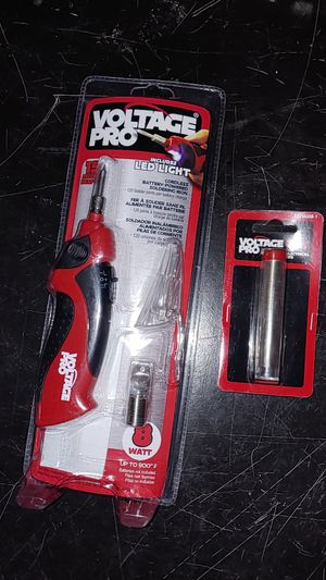 Cordless battery powered soldering iron w/ extra for Sale in Newington, CT