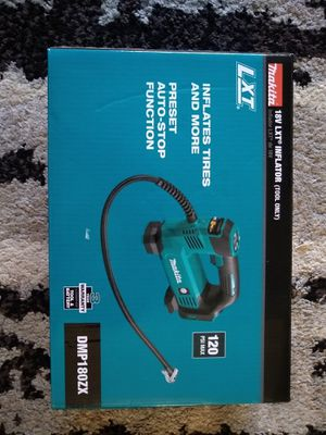 Makita 18V LXT Airpump 120Psi *New-Tool Only* for Sale in Kent, WA