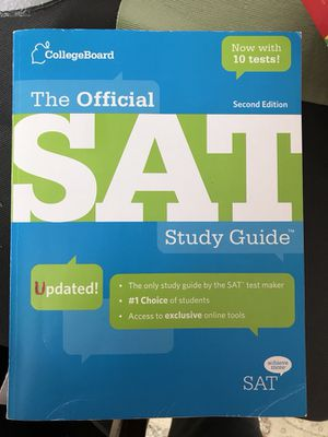 SAT Study Guide Second Edition for Sale in Montgomery Village, MD