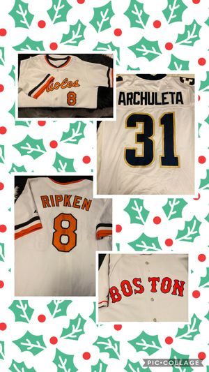 Baseball football Real authentic stitched jerseys ! for Sale in Seattle, WA