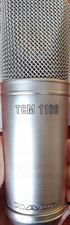 Nady TCM 1100 tube mic for Sale in Tampa, FL