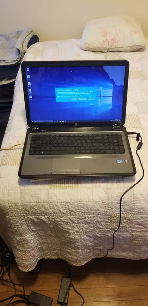 """Hp laptop,17"""", i3,10gb,120ssd,windows 10 for Sale in Marshfield, MA"""