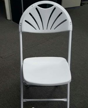 Fan Back folding chairs for Sale in Pearland, TX
