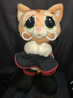 """Shrek puss in boots sweet talker 15 """" tall animated for Sale in South Zanesville, OH"""
