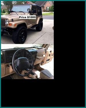 ֆ1OOO_1999 Jeep Wrengler for Sale in Palmdale, CA