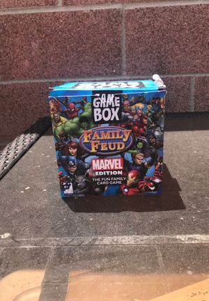 Family Feud Marvel Edition for Sale in Whittier, CA
