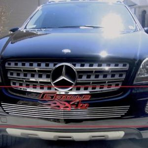 For Mercedes-Benz ML350 06-08 APG 5-Pc Polished Horizontal Billet Bumper Grille for Sale in Riverside, CA